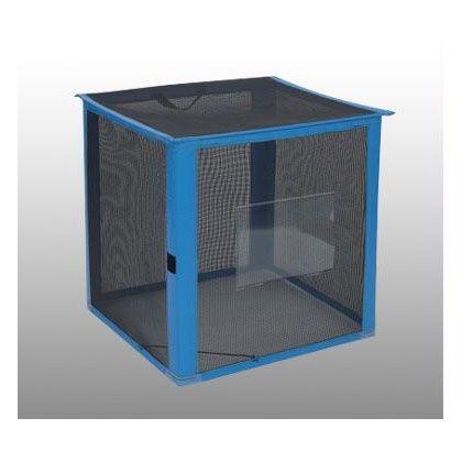 テラモト 自立ゴミ枠 折りたたみ式 カラス対策商品 黒 700×700×700 340L (DS-261-012-9) テ...