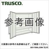 トラスコ 扉付軽量棚 ネオグレー 43WT25