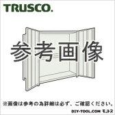 トラスコ 扉付軽量棚 ネオグレー 43WT23