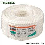 トラスコ(TRUSCO) ビニロンロープ3つ打線径6mmX長さ30m 150 x 157 x 77 mm R-630