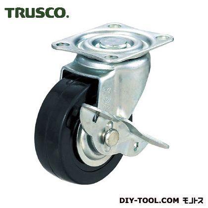 トラスコ(TRUSCO) 棚部材ハードゴムキャスター自在ストッパー付Φ75 115 x 82 x 64 mm TYSG-75RHS