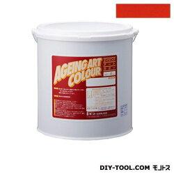ターナー色彩エイジングアートカラー屋内外特殊塗装用水性塗料低臭ファイアーオレンジ20kg(SJB20366)