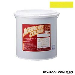 ターナー色彩エイジングアートカラー屋内外特殊塗装用水性塗料低臭ハンザイエロー20kg(SJB20378)