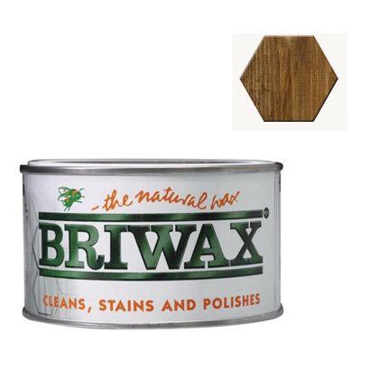 ブライワックス(BRIWAX) トルエンフリーワックス 蜜蝋ワックス 370ml ジャコビアン 1個