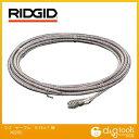 RIDGID/リジッド RIDGIDドロップヘッドオーガー一体型ケーブル7.6MC−2 5/16×7.6M 62235
