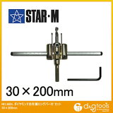 starm(スターエム) ダイヤモンド自在錐ロングバー付 30mmx200mm 36DL