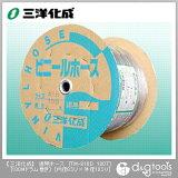 三洋化成 透明ホース(ドラム巻) 8mm×10mm×100Mドラム巻 (TM-810D 100T)