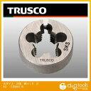 トラスコ(TRUSCO) 丸ダイス25径M6×1.0(SKS) 100 x 51 x 11 mm T25D-6X1.0