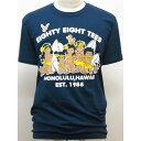 88TEES(エイティエイティーズ)メンズ・Tシャツネイビー×88ファミリーサイズ:M・L