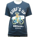 88TEES(エイティエイティーズ)メンズ・Tシャツウォッシュネイビー×SURF'S UPサイズ:M