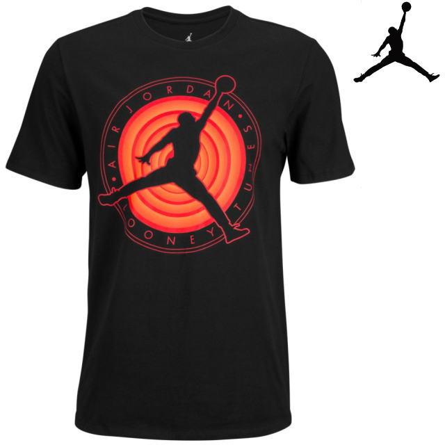 トップス, Tシャツ・カットソー NIKE JORDAN TJORDAN JUMPMAN WB TARGET T-SHIRTBlackChallenge RedS-XL