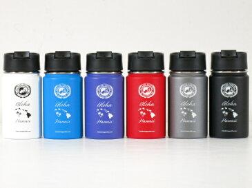 Island Vintage Coffee(アイランドヴィンテージコーヒー)Hydro Flask(ハイドロフラスク)コラボ【Hawaii限定】【Hawaii直輸入】【ハワイ発】12oz Wide Mouth with Hydro Flipステンレスボトル 水とう 保冷保温6colors 12oz/354ml