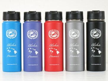 Island Vintage Coffee(アイランドヴィンテージコーヒー)Hydro Flask(ハイドロフラスク)コラボ【Hawaii限定】【Hawaii直輸入】【ハワイ発】20oz Wide Mouth with Hydro Flipステンレスボトル 水とう 保冷保温5colors 20oz/591ml・