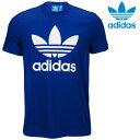 【激安・ポッキリセール】adidas Originals・アディダス オリジナルスTシャツadidas OriginalsTrefoil T-Shirt【海外限定】【USAモデル】【即日発送】Blueメンズ ユニセックス サイズ:S-XL【返品交換不可】