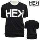 HE>i【ヒー・グレイター・ザン・アイ】【HE GREATER THAN I】【HALEIWA・ハレイワ】【Hawaii発】【ヒーグレイターザンアイ】・Tシャツ・MC LOGO GUY・サイズS〜XL・BLACK・ブラック・メンズ・ユニセックス