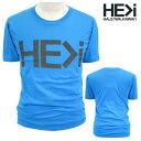 HE>i【ヒー・グレイター・ザン・アイ】【HE GREATER THAN I】【HALEIWA・ハレイワ】【Hawaii発】【ヒーグレイターザンアイ】・Tシャツ・MC LOGO GUY・サイズS〜L・TEAL・ブルー・メンズ・ユニセックス