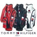 【4000円引クーポン有】キャディバッグ トミー ヒルフィガー THMG0SC6 ゴルフ用品 メンズ...