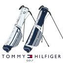セルフスタンドバッグ ゴルフバッグ トミーヒルフィガー THMG1SK6 STRIPE HALF STAND BAG ゴルフ用品 メンズ レディース