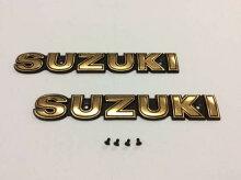 SUZUKIエンブレムGSX400Eザリ(ゴールド)