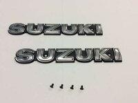 SUZUKIエンブレムGS400(シルバー)