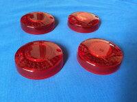 GS400/400Eウインカーレンズ4個セット赤