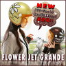 送料無料 レディース ヘルメットダムトラックス フラワージェットグランデ(DAMMTRAX FLOWER JET GRANDE)全2色