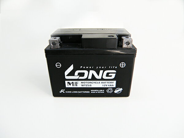 バイク用品, バッテリー  LONG WTZ5S ( YT4L-BS YTX4L-BS GTX4L-BS YTZ4V YTZ5S) TODAY DIO JOG 50cc KUNG LONG HONDA GROM MSX125