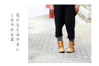 【TODAY'Sトゥデイズ】【送料無料】【代引手数料無料】クロスベルトアンクルレディースブーツ(1233)日本製本革BLACKブラックDARKBROWNダークブラウン森ガールkoos風柔らかブーツ【02P05Nov16】