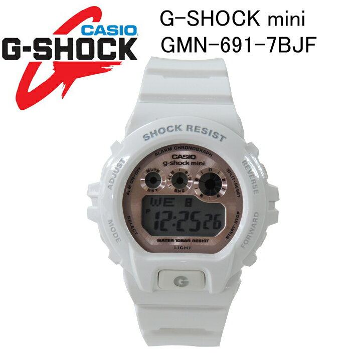 腕時計, メンズ腕時計 G-SHOCK miniG CASIO GMN-691-7BJF
