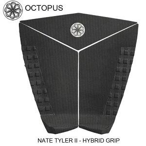 OCTOPUS オクトパス デッキパッドNATE TYLER 2 -HYBRID GRIP ナット・テイラー モデル サーフィン デッキパッド 3ピース送料無料!