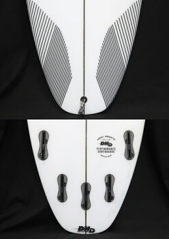 "【DHDSURFBOARDS】DHDサーフボード3DX5'6""25CL2018NewModel!FCS25FIN送料無料"