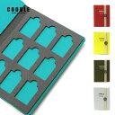 【9枚収納可能】SDカードケース sdケース sdカード ケース 収納 メモリーカードケース 保管 9枚収納 出張 旅行 持ち運び 日本製 おしゃれ CODDLE コドル +FABRIC SD CARD BOOK