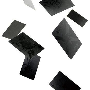 トランププラスチックカードおしゃれブラックGoodyGramsBLACKPLAYINGCARDS