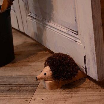 レデッカードアストッパー玄関おしゃれ泥落としハリネズミグッズ雑貨ドイツ掃除道具Redeckerはりねずみのドアストッパー