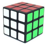 【正規販売店】スピードキューブ 競技用 3×3×3 世界基準配色 スムーズ回転 競技専用 ルービックスピードキューブ 立体パズル ブラック 競技入門 キューブ ルービックキューブ おすすめ なめらか 公式 安い