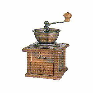 【【カリタ】手挽きコーヒーミル銅版ミルAC-1】