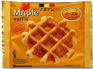 【【マネケン】メープルワッフル30個入り】