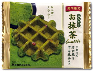 【【マネケン】お抹茶ワッフル30ヶ入り】