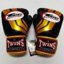 TWINS SPECIAL ボクシンググローブ 14oz Fs黒金 /ボクシング/ムエタイ/グローブ/キック/フィットネス/本革製/ツインズ/大人用/オンス