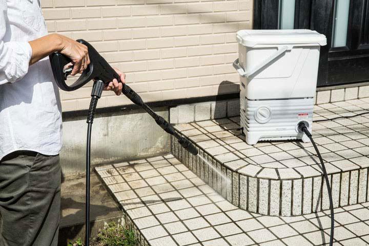 タンク式高圧洗浄機 13点セット SBT-512N ベランダセット アイリスオーヤマ高圧洗浄機 高圧洗浄機 洗浄機  大掃除 掃除 年末掃除 洗車 外壁掃除 換気扇掃除
