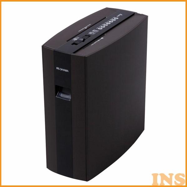 シュレッダー アイリスオーヤマ 細密シュレッダー PS5HMSD シュレッダー 電動 業務用 オフィス オフィス用 マイクロカット 細密カット ブラウン 静音 電動シュレッダー 安全 安全装置 細断 保証 A4 CD DVD 大人気 キャスター付き おすすめ 静音 シュレッダー静音