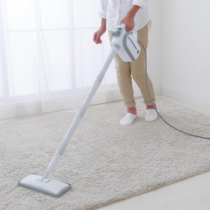 スチームクリーナー 15点セット STP-102 ホワイト アイリスオーヤマアイリス 3way パネル式 掃除 大掃除 年末掃除 洗車 外壁掃除 換気扇掃除
