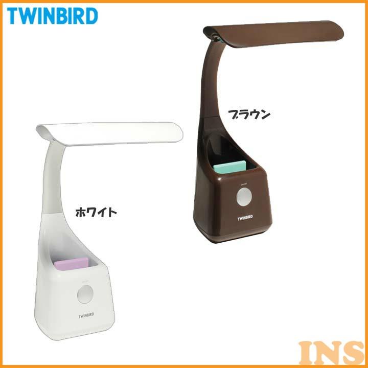 ライト・照明器具, デスクライト・テーブルランプ  ledLEDTWINBIRD LE-H502WLE-H502BR