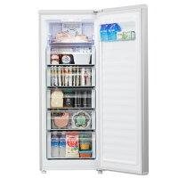 家庭用霜取り引き出しスリムタイプハイアール前開き冷凍庫153Lハイアール