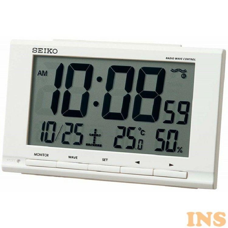 置き時計・掛け時計, 置き時計  SQ789W DB
