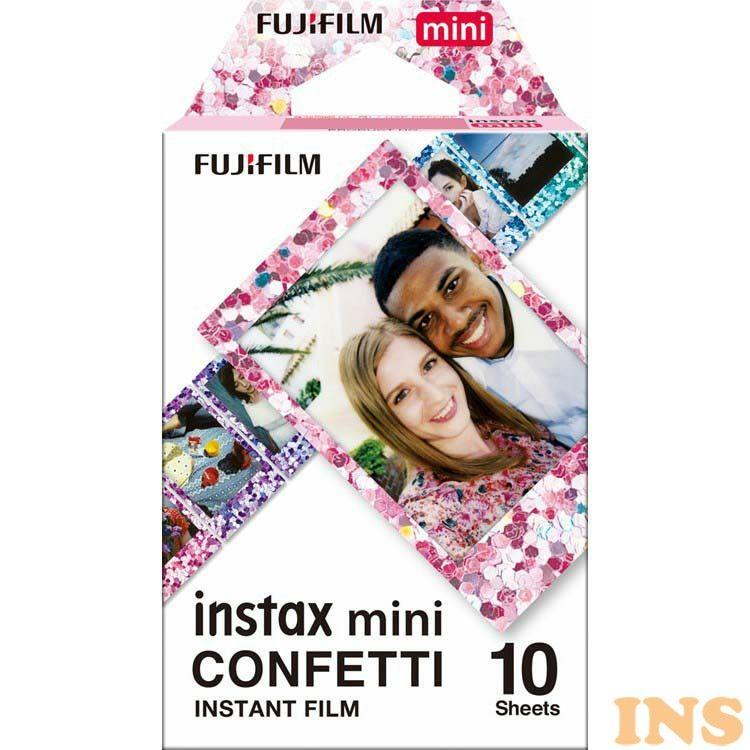 カメラ・ビデオカメラ・光学機器用アクセサリー, カメラ用フィルム  INSTAX MINI CONFETTI WW1 D