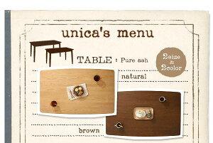 【送料無料】天然木タモ無垢材ダイニング【unica】ユニカ-ベンチタイプ4点セットAタイプ(テーブルW115+カバーリングベンチ+チェア×2)