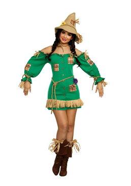 コスプレ 衣装 ハロウィン 仮装 オズの魔法使い カカシ コスチューム レディース 大人 セクシー dream girl ドリームガール 送料無料 ハロウィーン・パーティー ペアで仮装 パレード 余興に 11156◆取寄せ