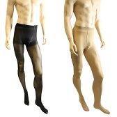メンズパンスト 男性用ストッキング パンスト タイツ 厚手 80デニール メンズストッキング メンズランジェリー メンズタイツ 女装に