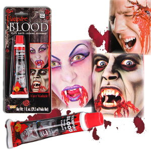 Colle de sang faux sang Halloween Halloween Vampire Dracula Vampire Zombie maquillage maquillage spécial Cosplay Costume Costume (13994)